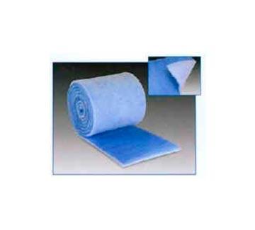 Medios filtrantes por rollo, en diversos materiales, densidades y eficiencias.