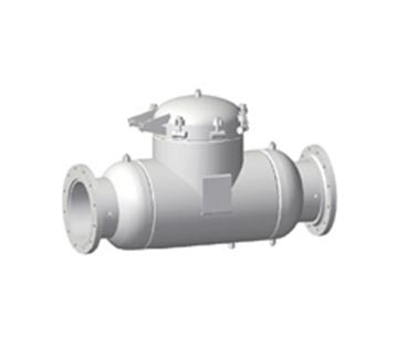 Low pressure bolted closure. Connection sizes 6″ & smaller (eliminates the need for (3) vessels in gas piping meter runs)